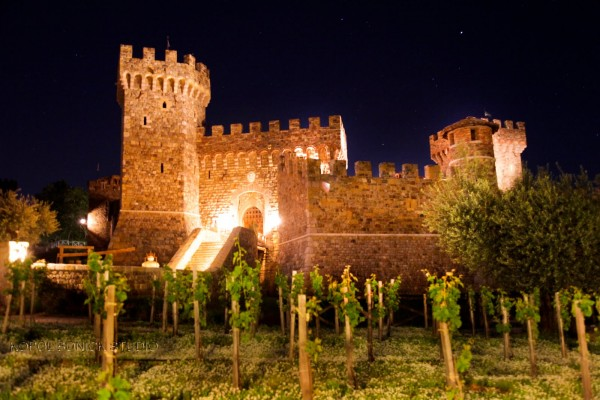 Castillo de Amorosa wine tasting tour in calistoge napa valley wine country