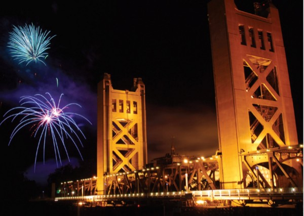 awsome parties in downtown Sacramento for 4th of July