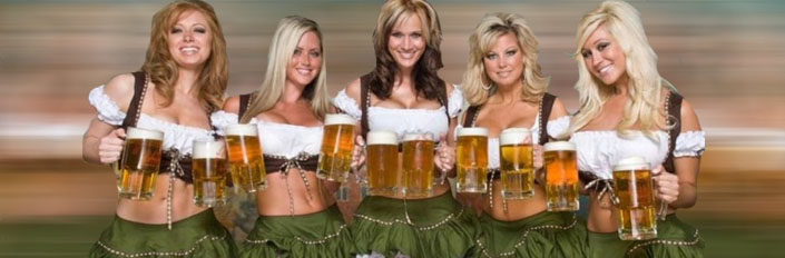 beer tasting VIP limo brewery tours the beer festival girls