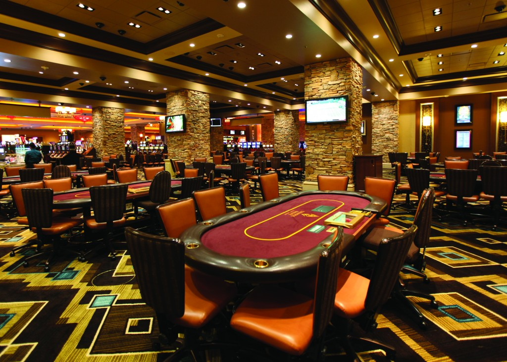 gaming tables Thunder Valley Casino