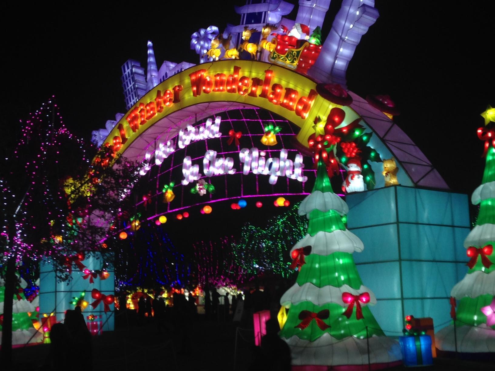 global winter wonderland lights tour - Best Christmas Light Show
